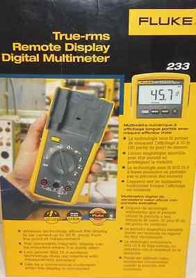 Fluke 233 Remote Display Multimeter Brand New Sealed