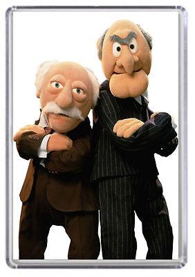 Statler and Waldorf, Muppets Fridge Magnet 01