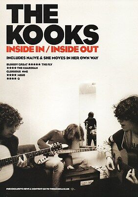The Kooks - Inside In Inside Out - A4 Photo Print
