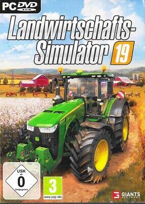 Landwirtschafts-Simulator 19 - DVD-ROM - PC - Neu & OVP - Deutsche USK 0 Version