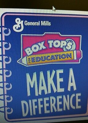50 BOX TOPS FOR EDUCATION - BTFE - NONE EXPIRED all 6/2017 dates and later