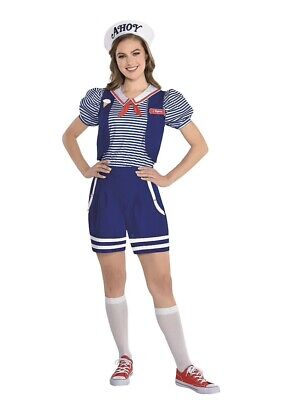 Adult Robin Scoops Ahoy Costume - Stranger Things Size SM/ MD LG Available