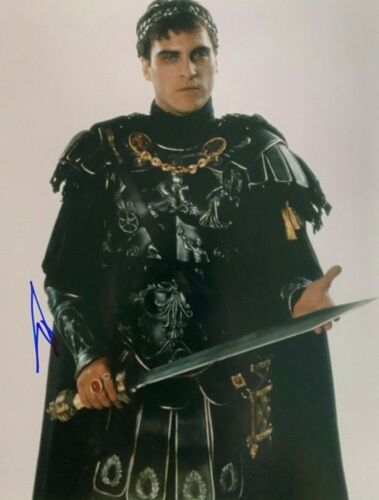 Joaquin Phoenix Signed autographed 8x10 Photo Gladiator SUPER RARE
