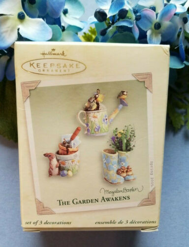 Hallmark Spring 2005  ~ The Garden Awakens ~  Marjolein Bastin ~ NIB!