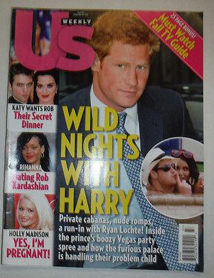 Us Weekly Magazine Prince Harry September 2012 No Ml 022315R3