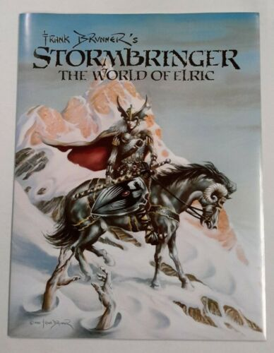 **STORMBRINGER: THE WORLD OF ELRIC BY FRANK BRUNNER**(1982, SCHANES&SCHANES)**