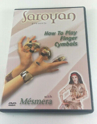 Saroyan Presents How to Play Finger Cymbals with Mesmera Instructional DVD 2004