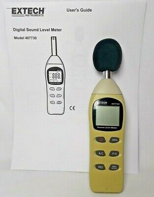 Extech Instruments 407730 Digital Sound Level Meter - Working