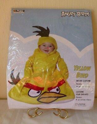 Angry Birds Halloween Costume Yellow Bird Infant 2011 New Unisex 0 - 9 - Infant Bird Costume