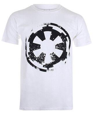 STAR WARS  T-Shirt - Imperial Logo  - weiss - XL - NEU