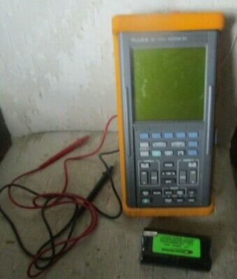Fluke 97 Scopemeter Dual Channel 50 Mhz Handheld Oscilloscope With Probes