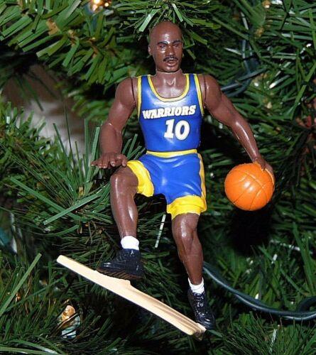 tim HARDAWAY golden state WARRIORS basketball NBA xmas TREE ornament jersey #10