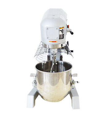 Commercial Dough Food Mixer New 3 Speed 370w 10l Gear Driven Bakery Blender