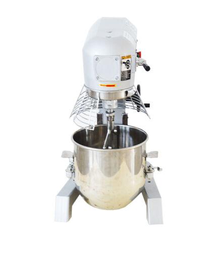 Commercial Dough Food Mixer NEW 3 Speed 370w 10L Gear Driven Bakery Blender