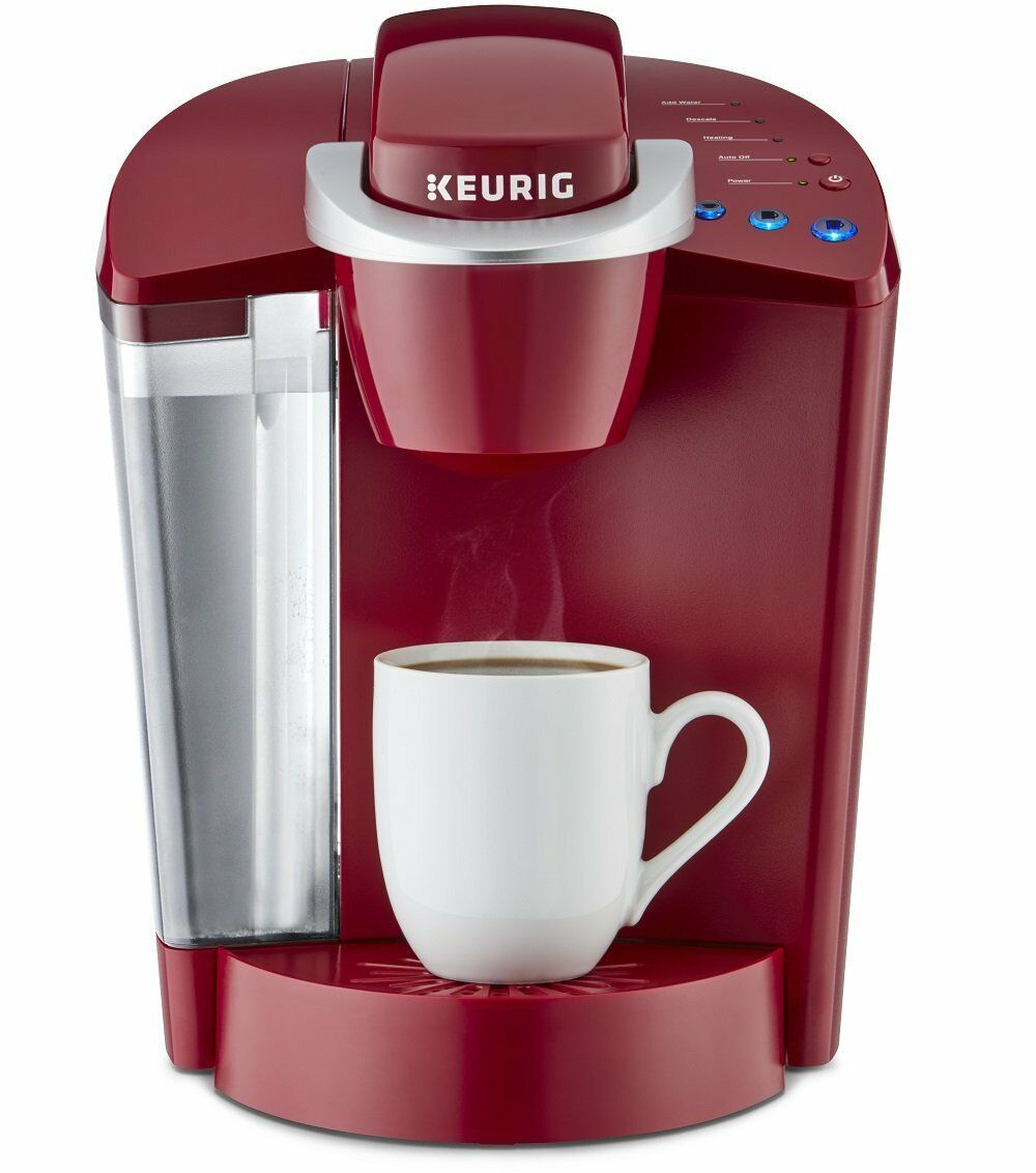 $69.97 - Keurig K55 Single Serve Coffee Maker RED Brand New Coffee Brewer - K Cups NEW