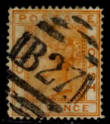 GOLD COAST, BRITISH: 1876 19TH CENTURY CLASSIC ERA STAMP SCOTT #8 CV $25 SOUND
