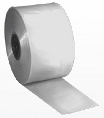 8 X 1100 Roll Of 4-mil Clear Poly Tubing