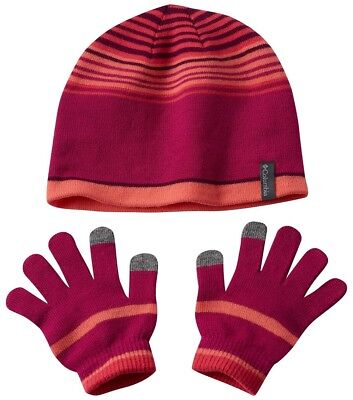 COLUMBIA Youth HAT and GLOVE SET Kid CHILDREN Girl TOUCH SCREEN COMPATIBLE a - Columbia Hats Gloves