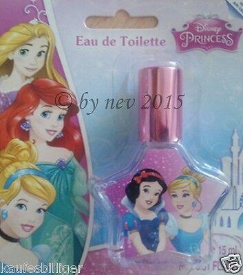 STAR DISNEY PRINCESS PARFUM 15ml Pflege Duft Kinderduft Eau de Toilette NEUWARE