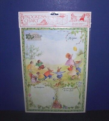 Progress Chart - Keepsake Record From 2 to 5 Years - Great Gift - NEW