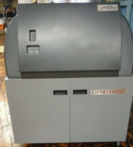 AB DICK PRESSTEK DIGITAL PLATE MAKER DPM34  HSC