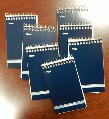 7 Mead Cambridge Writing Pad 3 X 5 Small Memo Book Wirebound Notebook 70sheet