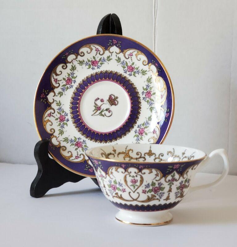 Paragon Queen Victoria Royal Collection Bone China Cup & Saucer