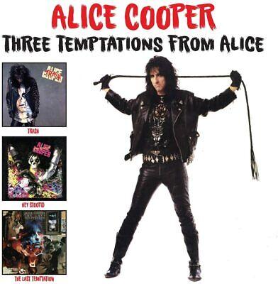 Alice Cooper Three Temptations 2-CD NEW SEALED Trash/Hey Stoopid/Last Temptation