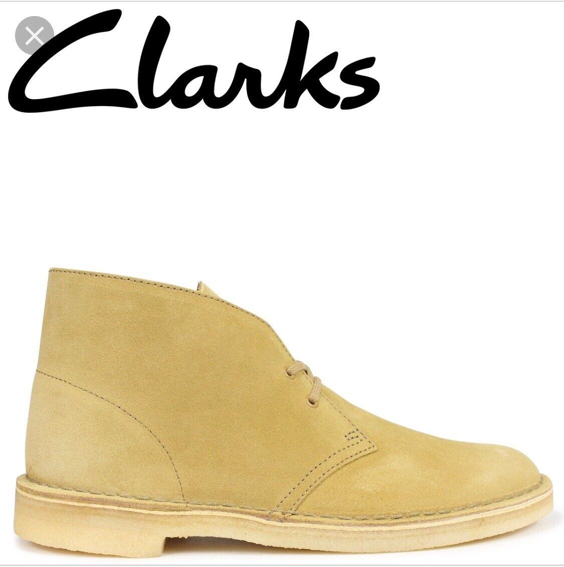 Clarks Originals Desert Boots Suede Oak Men's Sizes. 26138233