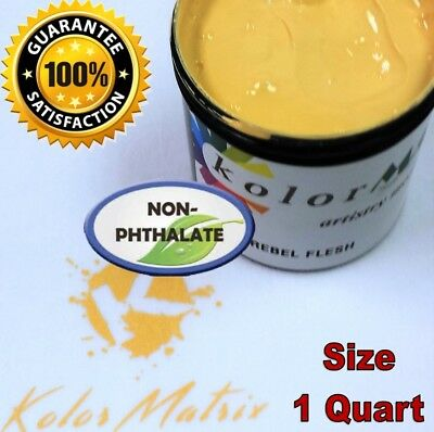 Gen Opaque Rebel Flesh Premium Plastisol Screenprint Ink - Non Phthalate Quart
