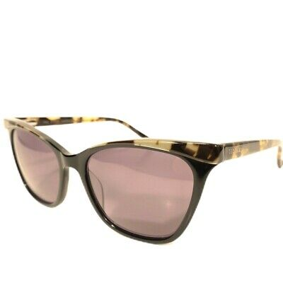 TED BAKER Womens TBW093 Tortoise Cat Eye Sunglasses Black (MSRP (Sunglasses Ted Baker)