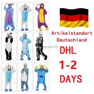 Adult Frozen OLAF Tier Onesie Kostüme Kigurumi Pyjama Erwachsene Unisex DE DHL
