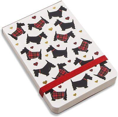 Scotties Dog Small Jotter Pad One Notepad 5 X 3 Tartan Plaid Clad Scotty Dogs