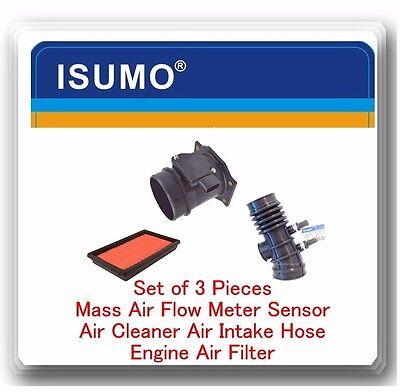 3 Pc Mass Air Flow Sensor Air Intake Hose  Air Filter Fits Frontier  Xteera