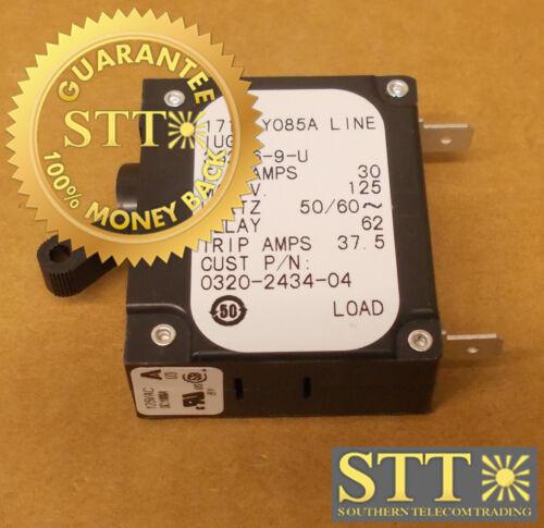 Iug1-36286-9-u Airpax 30 Amp Ac/dc Circuit Breaker Mag-hydr Lever 125v New