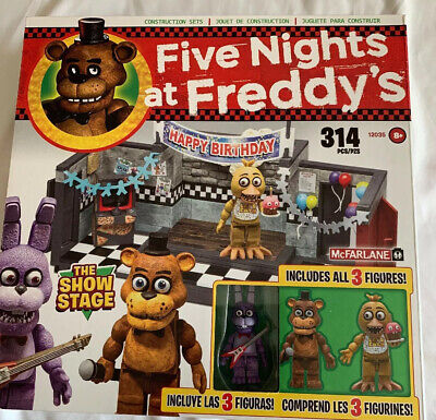 Five Nights At Freddy's Show Stage Original Construction Set Mcfarlane Toys