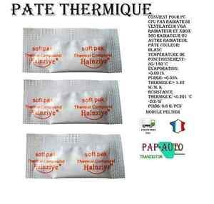 lot 3 pate thermique universelle pour module peltier processeurs consoles ou pc ebay