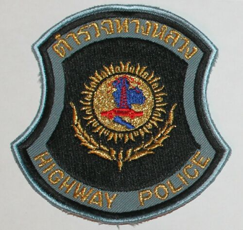 THAI HIGHWAY POLICE Thailand PD patch