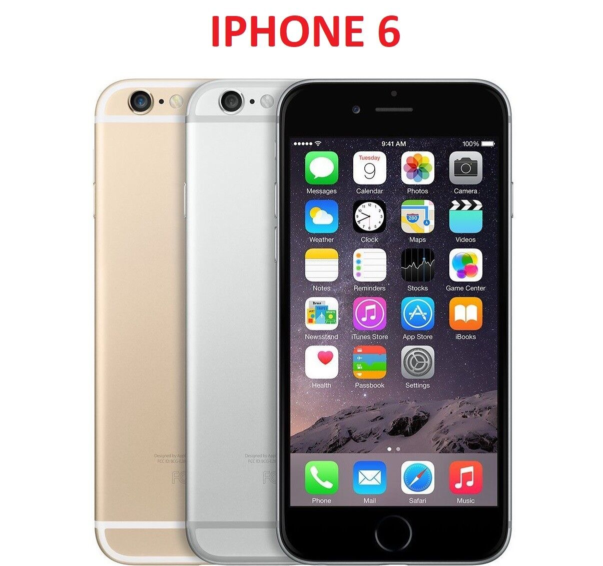 $209.97 - Apple iPhone 6-16GB 64GB 128GB *(AT&T)* Smartphone Gold Gray Silver Cell Phone