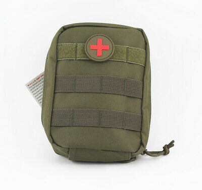 Outdoor Tactical Molle Medical First Aid Edc Pouch Phone Pocket Bag Organizer JA