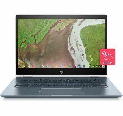 "HP Chromebook x360 14"" Touch Convertible Laptop Core i3-8130U, 8GB RAM 64GB eMMC"