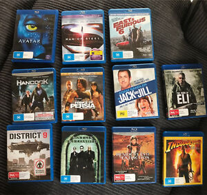Blue-ray movies assorted $10 each or 3 for $25 or $85 lot Springwood Logan Area Preview