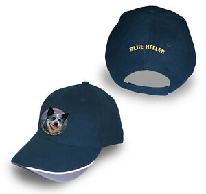 BLUE HEELER AUSTRALIAN CATTLE DOG  BASEBALL CAP/HAT