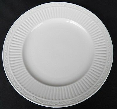 (MIKASA ITALIAN COUNTRYSIDE WHITE ROUND CHOP PLATE BUFFET SERVING PLATTER 12