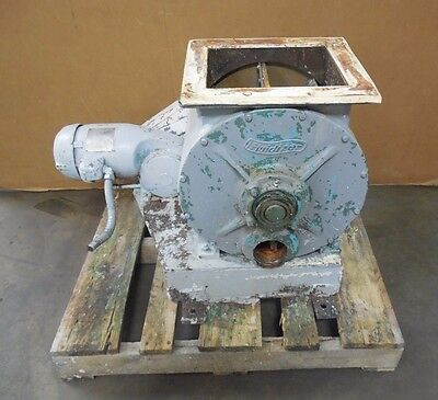 Fluidizer 12x12 Rotary Airlock Feeder Valve 2b511 12hp 220440v 3ph