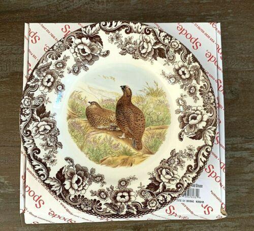 "SPODE Woodland Red Grouse 10.5"" Dinner Plate"