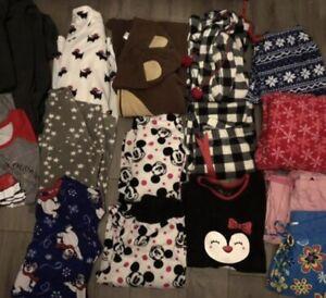 Tee girl/ladies pyjama lot-fits sm/med
