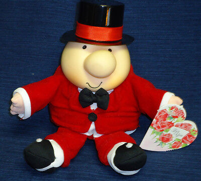 ZIGGY in Red Tuxedo & Top Hat plush w/Tag St. Valentine's Day  (Valentines Tag Hat)
