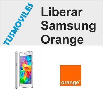 Liberar Samsung Orange Galaxy S4 S3 S2 S Nexus mini 4 Note...