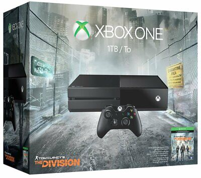 Xbox One 1TB Console - Tom Clancy's The Division Bundle-open box